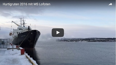 Hurtigruten : superbe video d'un voyage en janvier 2016 à bord du MS Lofoten en Norvège | Hurtigruten Arctique Antarctique | Scoop.it