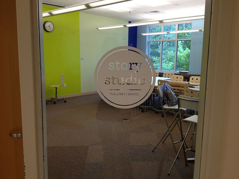 A Visit to the Lovett School Story Studio:  Redesigning Learning Spaces, Rewriting Narratives of Learning | Makerspaces in Libraries | Scoop.it