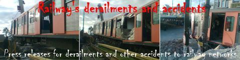 Railway's derailments and accidents