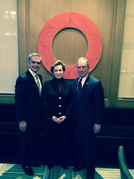 Mancera Meets Bloomberg: Mexico City Mayor Talks Climate Change in New York | BIPV - Green Energy Buildings | Scoop.it