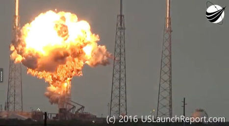 SpaceX Falcon Accident Investigation Points to Breach in Rocket's Helium System | More Commercial Space News | Scoop.it