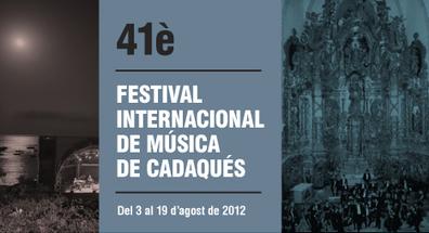 Festival de Música de Cadaqués 41è | Actualitat Jazz | Scoop.it
