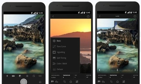 Adobe unveils Lightroom 2.0 for Android, complete with RAW shooting/editing, Dehaze and Split Toning - DIY Photography | Everything Photographic | Scoop.it
