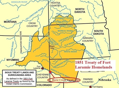 Native History: 50,000 From Nine Tribes Gather to Sign Treaty of Fort Laramie | treaty of fort laramie | Scoop.it