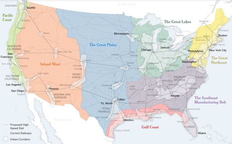 A New Map for America | AP Human Geography Digital Knowledge Source | Scoop.it