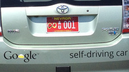 Google gets license to test drive autonomous cars on Nevada roads | The Robot Times | Scoop.it