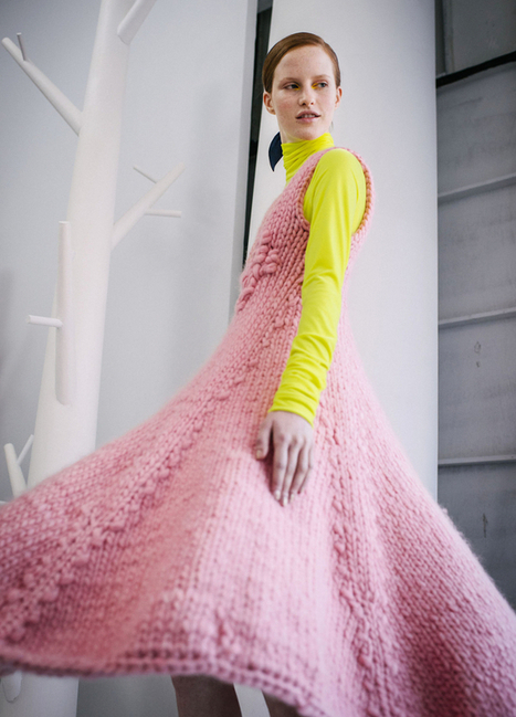 One Sheepish Girl   Knitwear Inspiration – Delpozo Fall 2015   Handcraft - knitting, crocheting, sewing, embroidery   Scoop.it