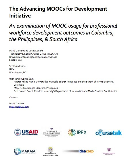 First-ever study on MOOC use and non-use in developing countries | CourseTalk | MOOCs, SPOCs and next generation Open Access Learning | Scoop.it