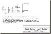 Simple JFET Preamp for an iDevice Guitar Interface | DIY Music & electronics | Scoop.it