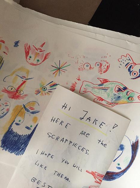 Jake Green's photographs inside children's illustrators' studios... | Art for art's sake... | Scoop.it