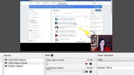 Comment utiliser Facebook Live sur desktop gratuitement | Community Management Post | Scoop.it
