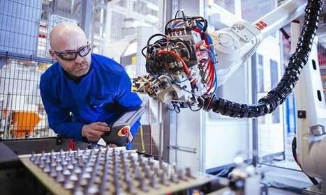 Safran inaugure une ligne automatisée de fabrication de pales de turbine d'hélicoptères | Usine du Futur | Scoop.it