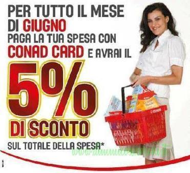 Conad sconta la spesa per tutto il mese di giugno | Coupon, Buoni Sconto, spesa e benzina. Promozione varie | Scoop.it