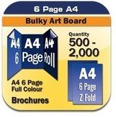 6 Page A4 300gsm Art Portrait Brochure 500+ | online printings Australia | Scoop.it