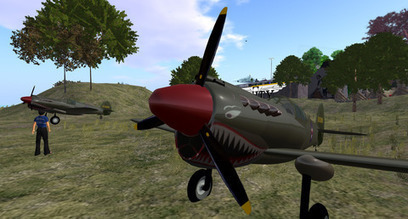 Xilted Airstrip Rez Zone, Xilted - Second Life | Second Life Destinations | Scoop.it