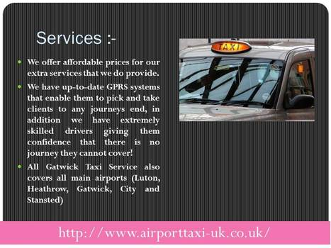 taxi gatwick to london   Airport taxi UK   Scoop.it