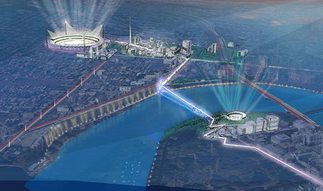 "Brisbane's Gabba ""Bolt"" Bridge to Form New Transport Hub 