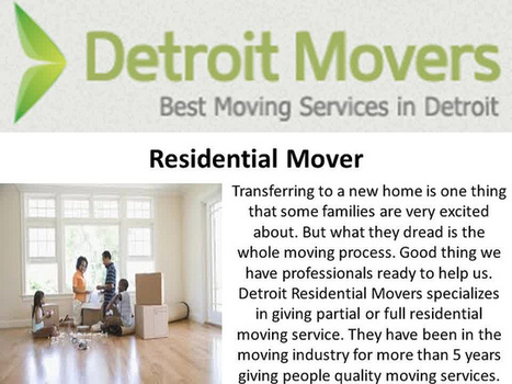 Detroit Movers Inc | Detroit Movers Inc | Scoop.it