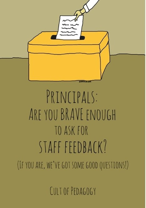 Principals: Are you brave enough to ask for staff feedback? | Library Media Skills K-12 | Scoop.it