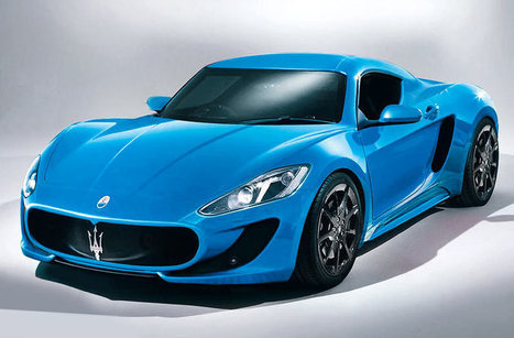 Maserati's 911 Rival Rendered | latest cars | Scoop.it