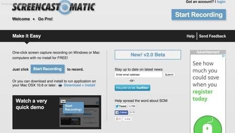 3 outils en ligne pour créer des leçons en vidéo | Les outils du Web 2.0 | Scoop.it