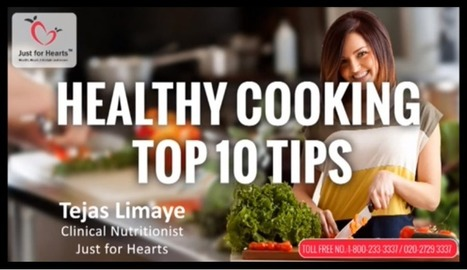 Healthy Cooking Tips | Just for Hearts | Diet Plans : Make Healthier Food Choices! | Scoop.it