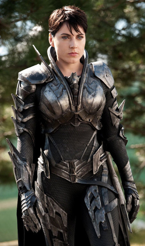 Ten Moments that Mattered: Faora in Man of Steel......that's one tough bitch. | comics comics | Scoop.it