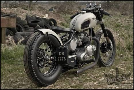 Oily Rag Clothings Triumph Bobber | adventure | Scoop.it