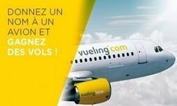 La compagnie Vueling invite ses fans Facebook à baptiser un avion | marques & social media | Scoop.it