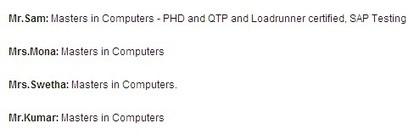 HP QTP Online Training | QTP Tutorials | QTP Training In USA, UK | QA Online Training with Placement | Scoop.it