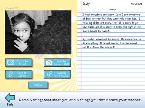 Write About This | Magic Beach - Stage 1 Literacy | Scoop.it
