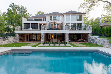 House of the Week: $8.9 million for an Oakville mansion with a backyard that downtowners can only dream of - torontolife.com | Real Estate Update | Scoop.it