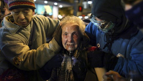 Pregnant woman pepper sprayed at Occupy Seattle - CBS News | Occupy The Northwest | Scoop.it