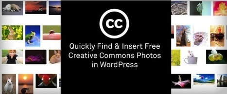 Quickly Find & Insert Free Creative Commons Photos in WordPress | Technology Applications | Scoop.it