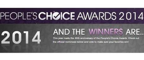 2014 People's Choice Awards Announced - I4U News | GAMB MEDIAS | Scoop.it