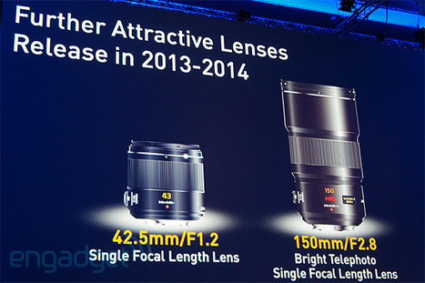 Panasonic teases 42.5mm f/1.2 and 150mm f/2.8 MFT lenses, slated for release by 2014 | Photo : Lumix G MFT | Scoop.it