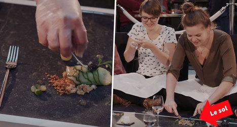 Cette marque de nettoyeurs à vapeur crée le premier restaurant où l'on mange à même le sol | Marketing et Promotions | Scoop.it