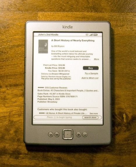 E-readers prove easy on the eye for some dyslexics | Information Science | Scoop.it