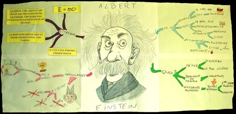 Gabin et Einstein, une carte mentale pour faire... | Cartes mentales | Scoop.it