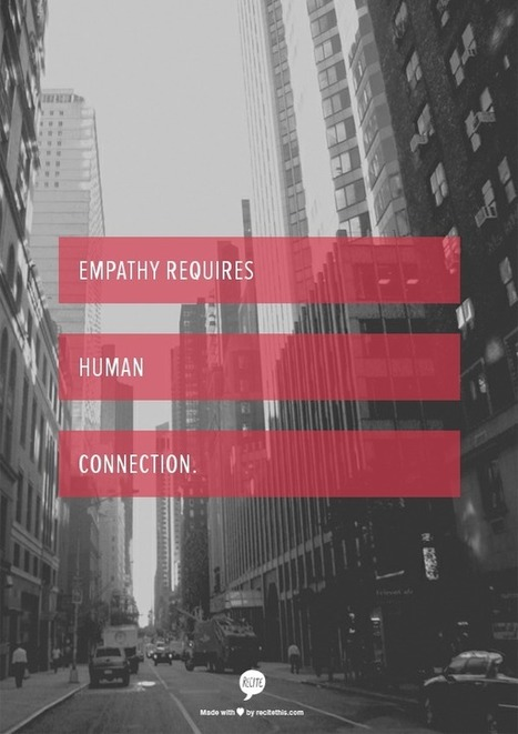Empathy: Making the Connection - Thin Difference | PeaceMoon | Scoop.it