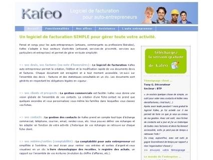 Logiciel de facturation pour auto-entrepreneur | Websourcing.fr | Je, tu, il... nous ! | Scoop.it