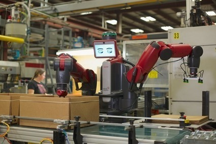 Someone's Gotta Do It: This Collaborative Robot Does the Dull Jobs Few Humans Want | Robotics in Manufacturing Today | Scoop.it