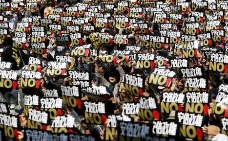 14.000 personas marchan en Tokio contra giro militarista de Shinzo Abe | MOVIMIENTOS SOCIALES | Scoop.it