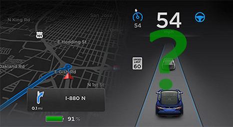 Confondere i sensori Autopilot Tesla, conseguenze sulla guida autonoma | green car | Scoop.it