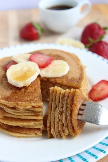 #HealthyRecipe / Vanilla Spiked Protein Pancakes | sweet cooking | Scoop.it
