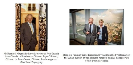 Bespoke Discovery of Bordeaux Grands Crus Classés Chateaux with Bernard Magrez 'Luxury Wine Experience' | Best Of Wine Tourism | Scoop.it