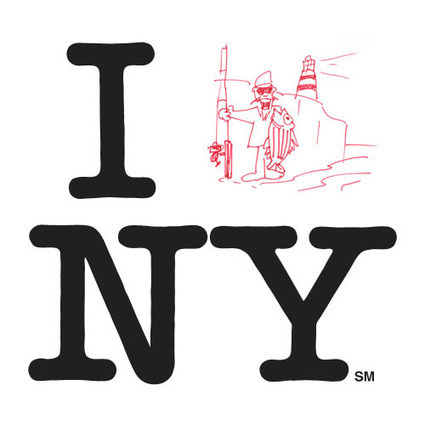 I Love NY logo set for makeover | Logo Design Love | Logo | Scoop.it