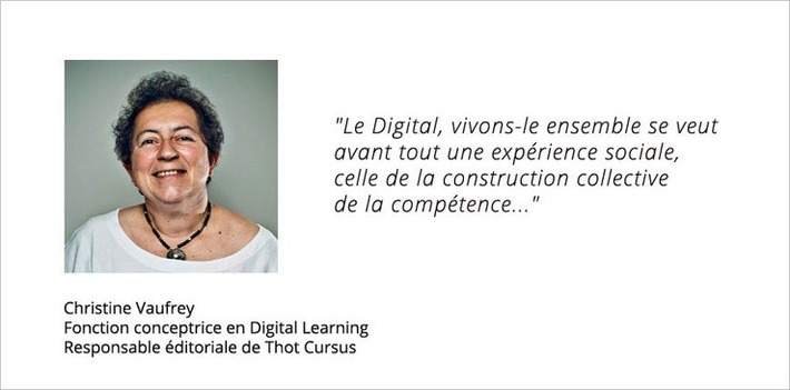 Interview Christine Vaufrey : « MOOC Digital, vivons le ensemble ! » | Solutions locales | Scoop.it