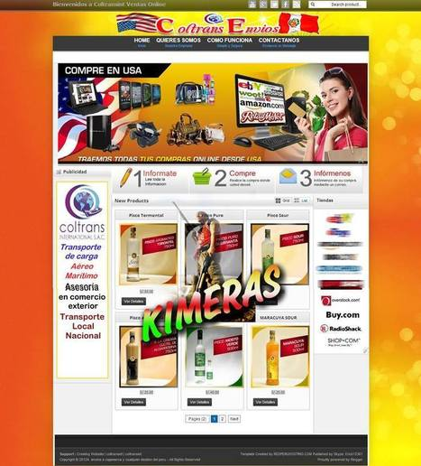 Theme blogger - Tienda Ecomerce by Kimeras | Blogger themes | Scoop.it