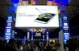Samsung, premier demandeur de brevets en Europe – metronews   Propriété intellectuelle   Scoop.it